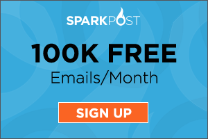 Try SparkPost Free