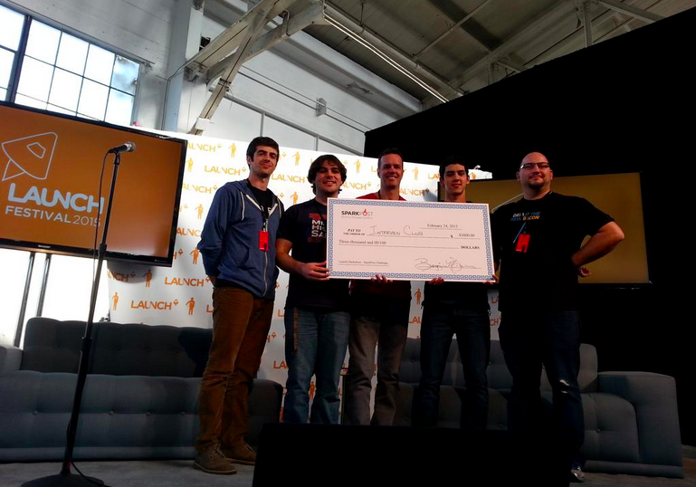 Launch Hackathon SparkPost FullContact Promo Winner