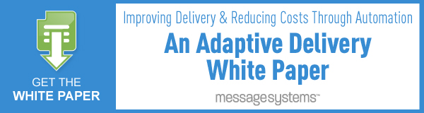 Adaptive Delivery Whitepaper