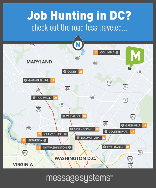 How Long Does It Take To Get To Our Columbia HQ?