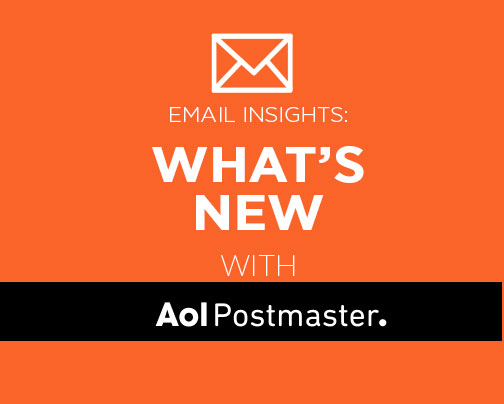 What's New With The AOL Postmaster Site?