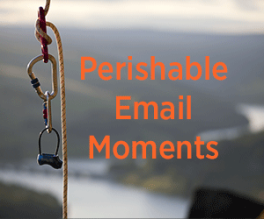 Perishable email moments