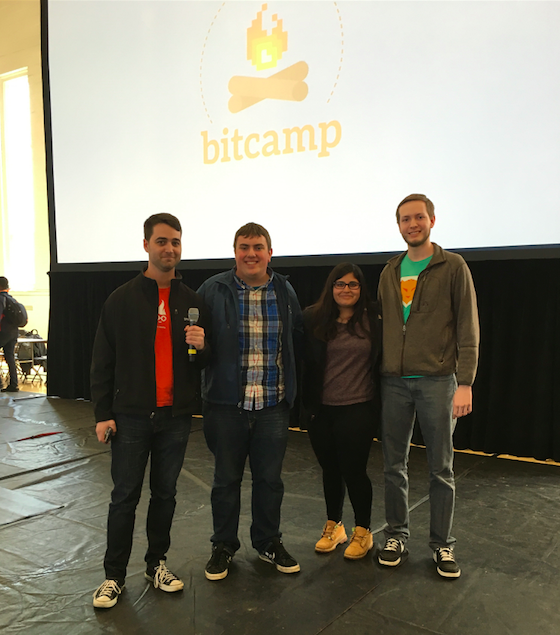 Introducing our Bitcamp 2016 Winners: Piggy Pennies
