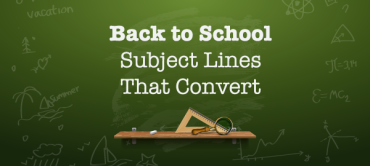 Back To School Subject Lines