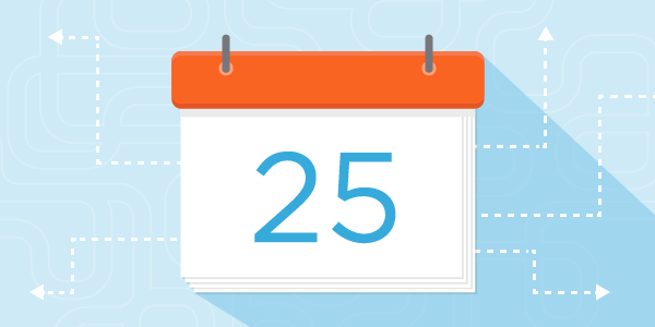 Google Apps and SparkPost Calendar Graphic