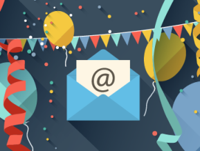 three email resolutions for 2017 email party envelope balloons