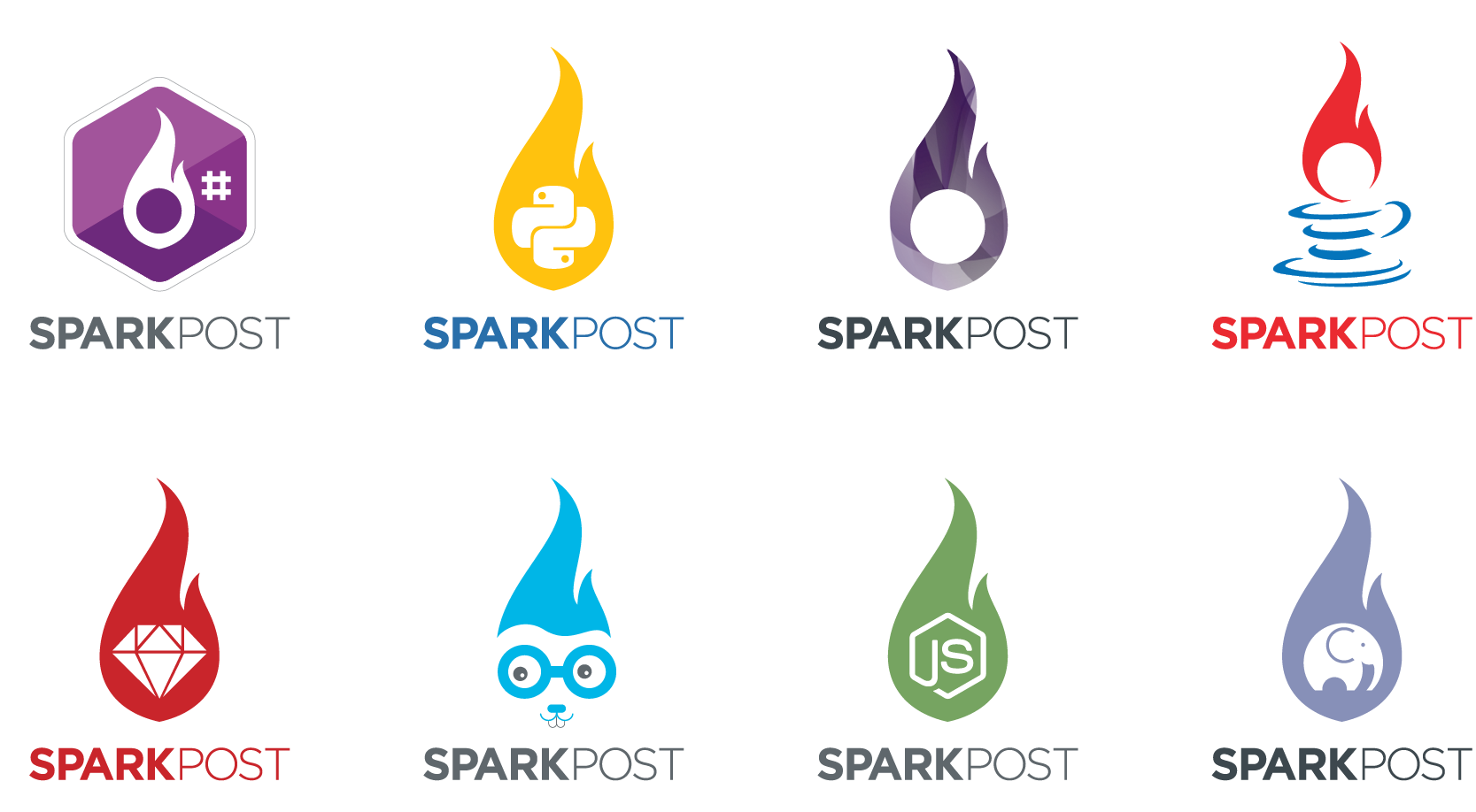 sparkpost client library stickers