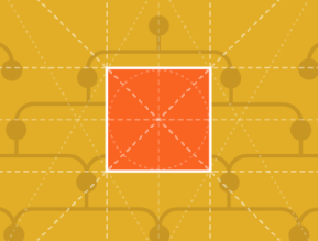 yellow background orange square stored templates subaccount