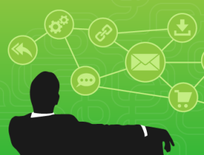 user engagement green background black silhouette 360x274