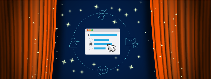 interactive email navy blue background 800x300