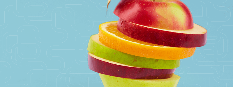 segmentation strategies sliced fruit